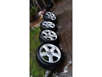 """18"""" Audi RS6 wheels also fit A3,A4,A6,A8,VW,SEAT,SKODA"""