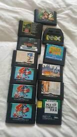 Megadrive games