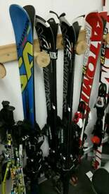 Slalom and GS skis for kids