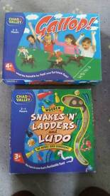 Snakes n Ladders, Ludo and Gallop
