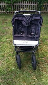 Mountain buggy duo double good used condition suitable from birth COLLECTION ONLY