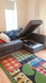 Fabulous Sofa Bed with storage-IKEA