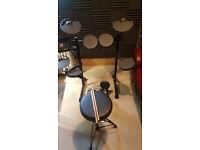 Yamaha DTX430k Electronic Drum Kit with stool and original Box