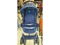 Graco Pushchair - Blue in excellent condition.