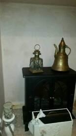Brash parafin lamp