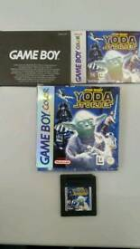 Nintendo Gameboy color. RARE Star Wars Yoda