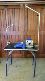 Double K challenger dryer & grooming table