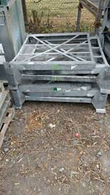Heavy Collapsible Galvanised Steel Stillages