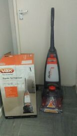 Vax Rapide Spring Carpet Washer W91-RS-B-A new in box