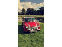 2000 ROVER MINI COOPER SPORT 1275 MPI SOLAR RED MOT AUG 2018