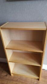 Wooden book shelf / display unit