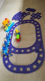 Happy Land Train Set and Extension Track Set