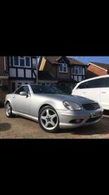 Mercedes SLK320 V6 6speed manual rare convertible classic px welcome