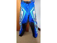 WULFSPORT Motocross/Mountain bike padded trousers.