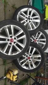 Vectra c sri Alloy wheels