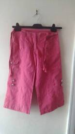 Girls Crop Trousers