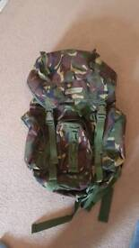 Camouflage army bag rucksack 25L