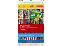 2 x LEGOLAND tickets for 23/6