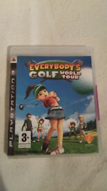 PS3 Everybody's Golf World Tour Game