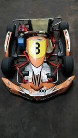 Cadet kart zip chassis