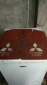 Mitsubishi rear mud flaps