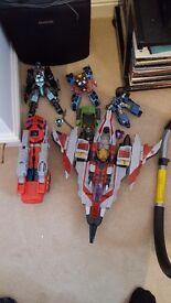 Transformers cybertron figures