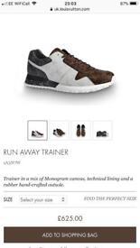 Men's Louis Vuitton run away trainers eu 39 uk 6