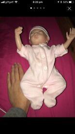 Full bodied reborn girl