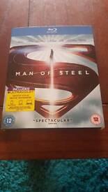 Man of Steel blu-ray.