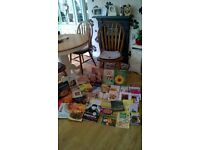 CLEARANCE of a HUGE COLLECTION 40 EXPENSIVE COOKERY/baking/masterchefs BOOKS BRAND NEW/LIKE NEW