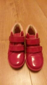 Girls clarks shoes 8.5 F