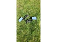 Extension wing mirrors, clip on type