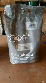 Grout - Porcelanosa Butech Colorstuk sanded grout (anthracite) (1.1litre) (5kg)