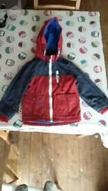 Boys waterproof coat (age 3-4 yrs)