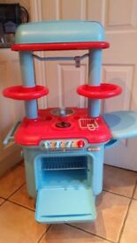 Child's Plastic play kitchen
