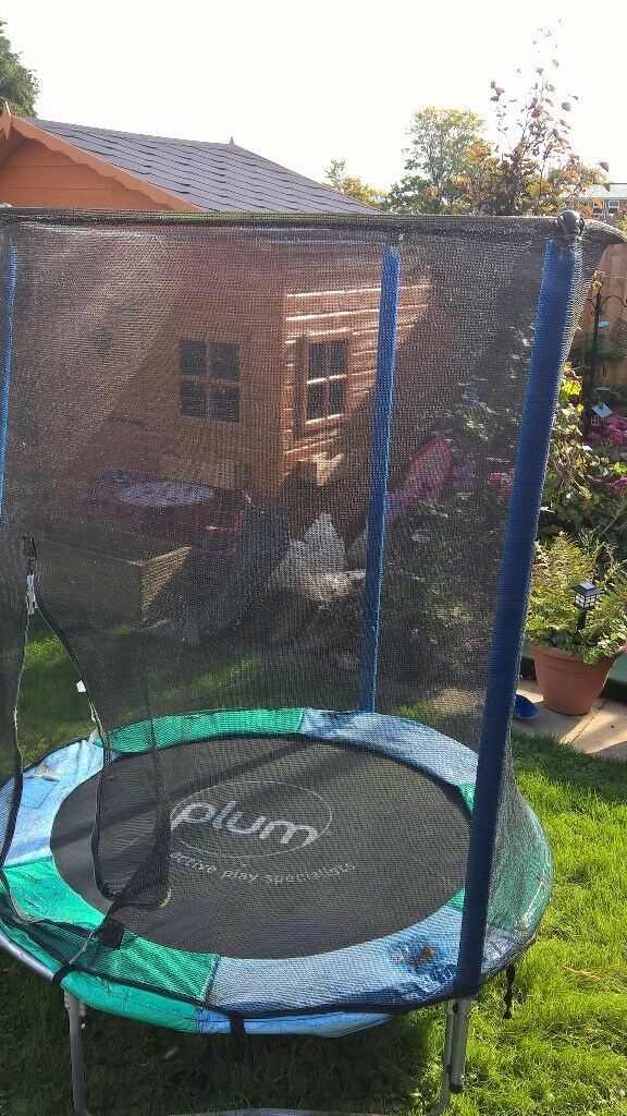 Plum 4.5ft trampoline with safety net