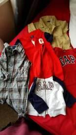 Baby boys gap clothes bundle