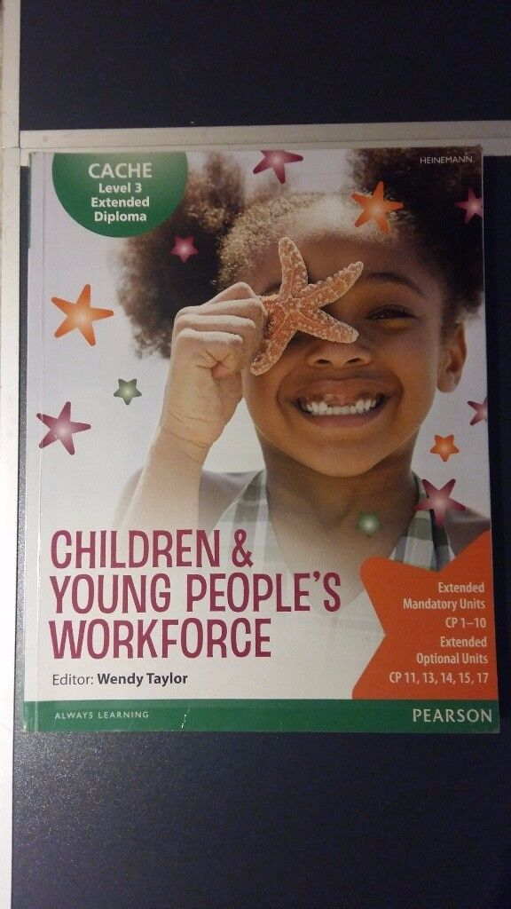 Cache Level 3 Extended Diploma for the Children & Young Peoples Workforce PLUS BOOK FOR FREE
