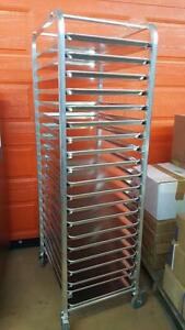 ALUMINUM BAKERY RACK ( BRAND NEW ) MADE IN CANADA