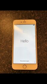 iPhone 6 Plus 16gb in gold used on EE