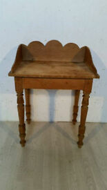 Victorian Solid Pine Washstand