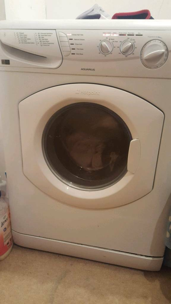 Hotpoint washer/dryer. Great condition. Bargain deal