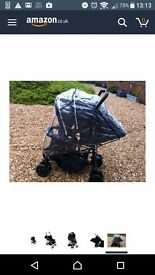 Double buggy - kidz Kargo duo - Black