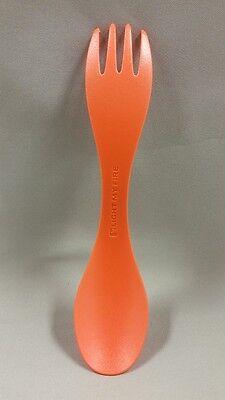 NEW Light My Fire Spork Little Spoon-Fork Combo Utensil - Children/Kids Orange