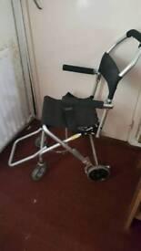 light weight foldable wheel chair