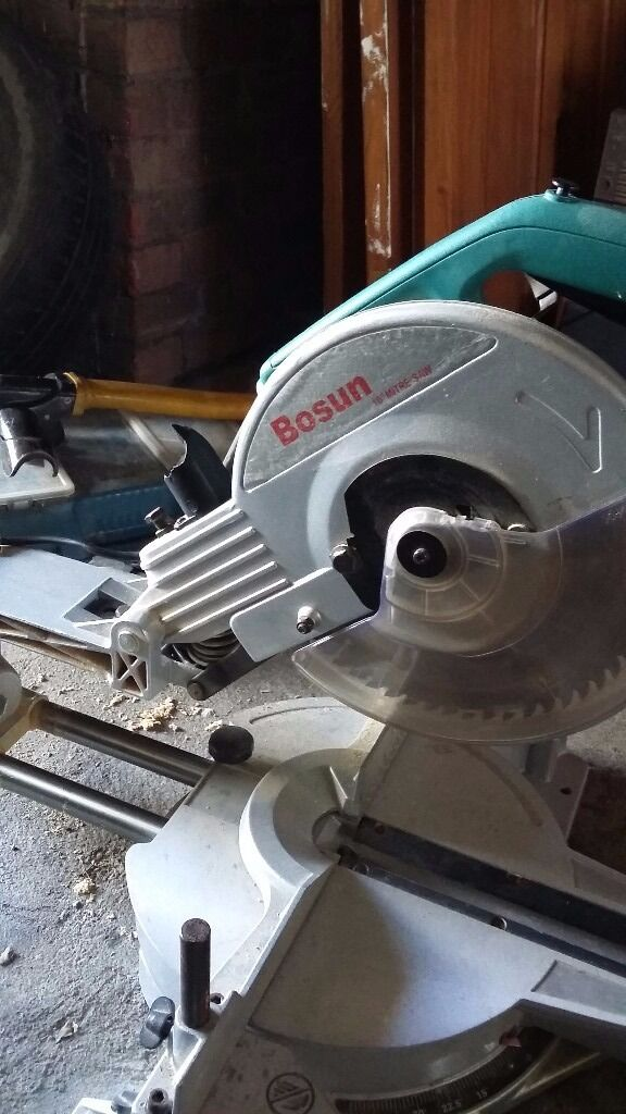 Bosun 10inch Sliding Mitre Saw In Waltham Abbey Essex