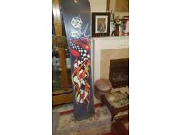 Used snowboard 155 CM -- used quite a bit so price reflects this--some scratches
