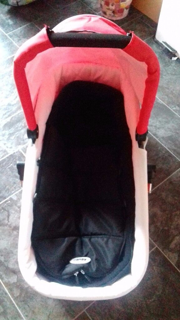 Outnabout Red Carrycot