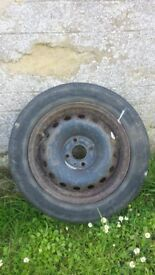 *** ONLY ONE LEFT WHEEL AND TYRE £5***