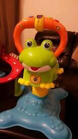 Jumping frog bouncer